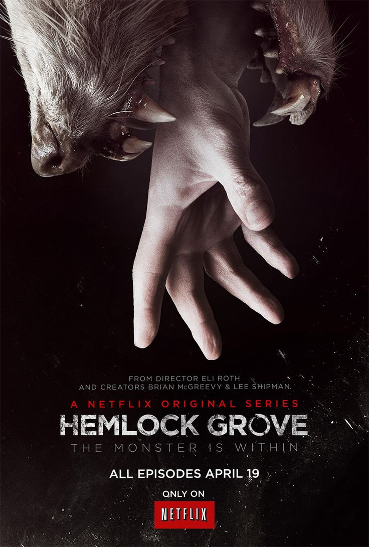 Hemlock Grove (original Netflix). The first season is stunning. It's bloody and gross, but truly stunning.