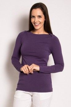 Ladies Bamboo Boat neck top