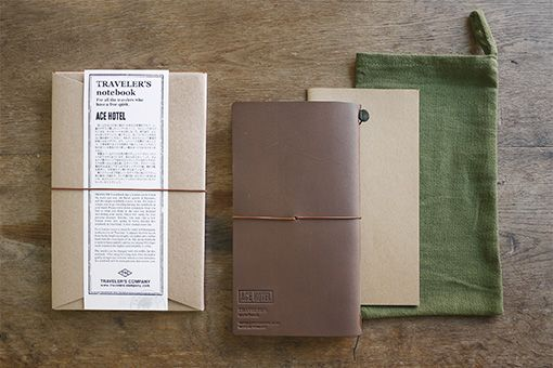 A First Collaboration by ACE HOTEL and TRAVELER'S COMPANY!