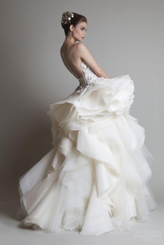 krikor-jabotian-couture-2014-sleeveless-wedding-dress-illusion-back.jpg 667×1,000 pixels