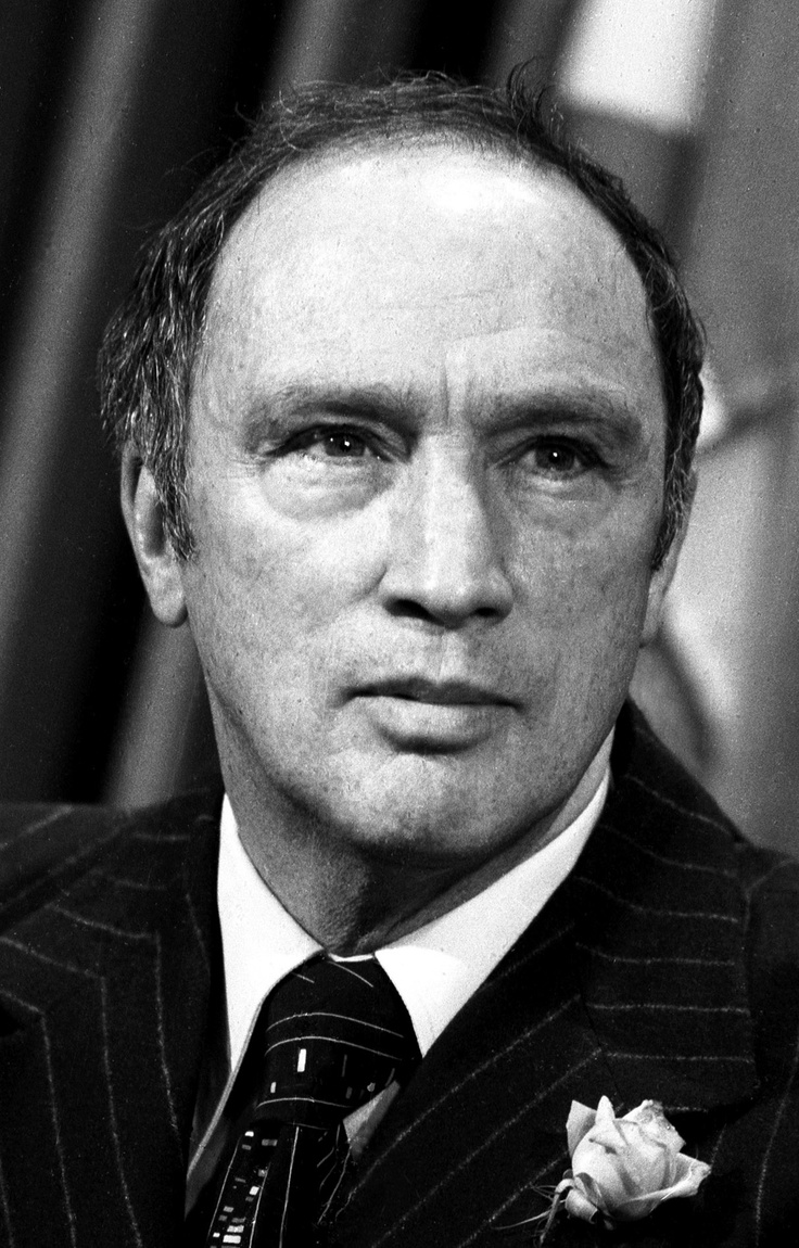 The Right Honourable Pierre Trudeau