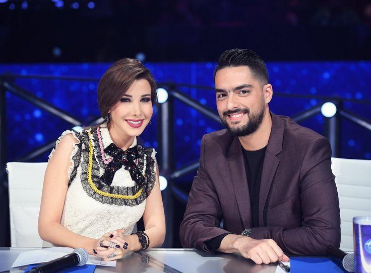 Hassan El Shafei With the elegant Nancy Ajram 😍 #ArabIdol #MUSICBiz #BIZBoost