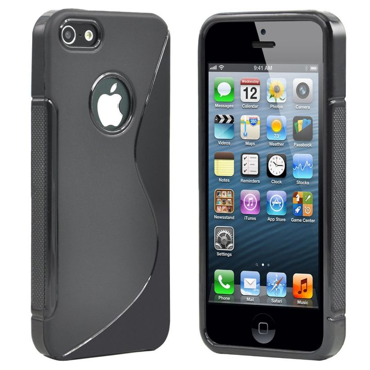 S-Line Tpu Soft Silicone Matte Anit-Skid Protective Skin Phone Case Cover For Apple iphone 3 3G 3GS 4 4S 5 5S SE 5C 6 6S 7 Plus