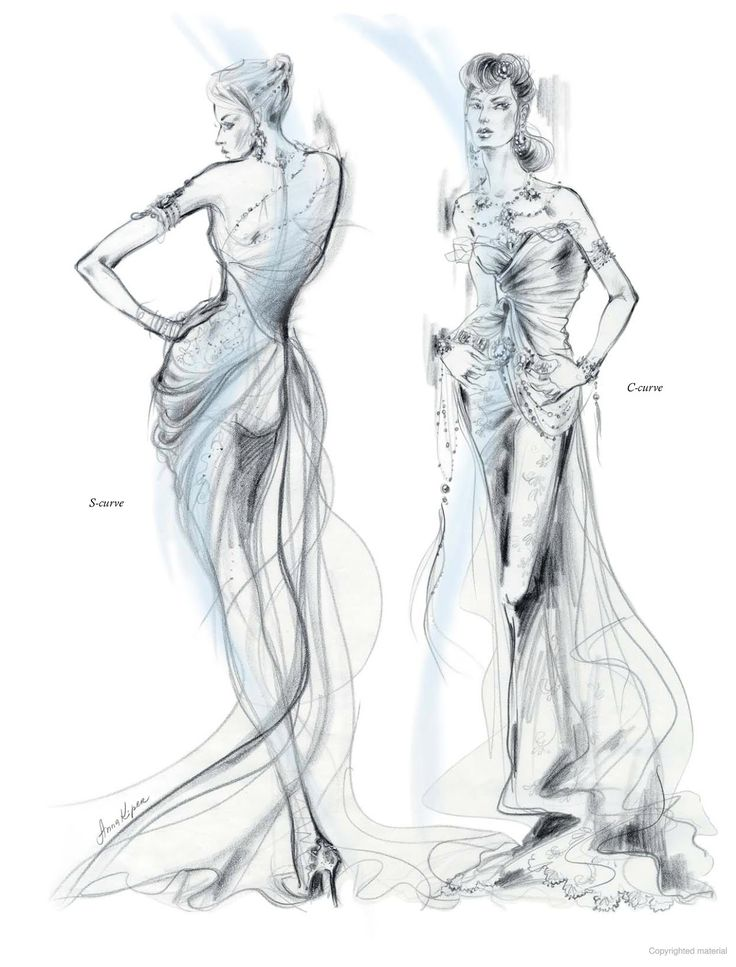 Fashion Illustration  Inspiration and Technique