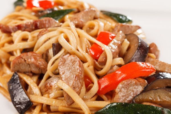 Beef and ginger noodle stir-fry via MyFamily.kiwi