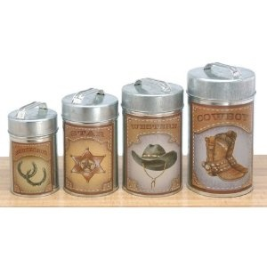 The 25 best ideas about southwestern bathroom canisters on pinterest western kitchen decor - Western canisters for kitchen ...