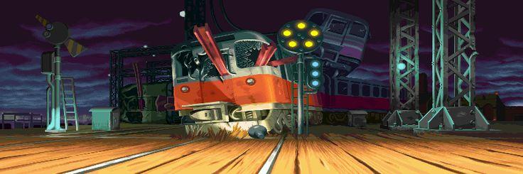 Street Fighter Alpha 3, Birdie stage.