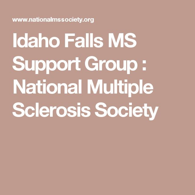 Idaho Falls MS Support Group : National Multiple Sclerosis Society