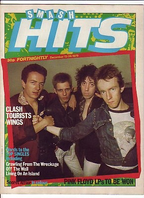 SMASH HITS Magazine - December13-26 1979 - THE CLASH cover