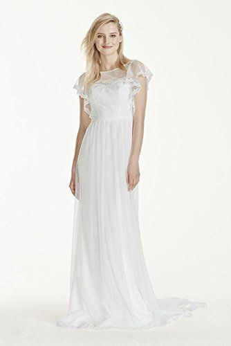 17 best images about sonya inspired on pinterest tulle for Wedding dress with swag sleeves