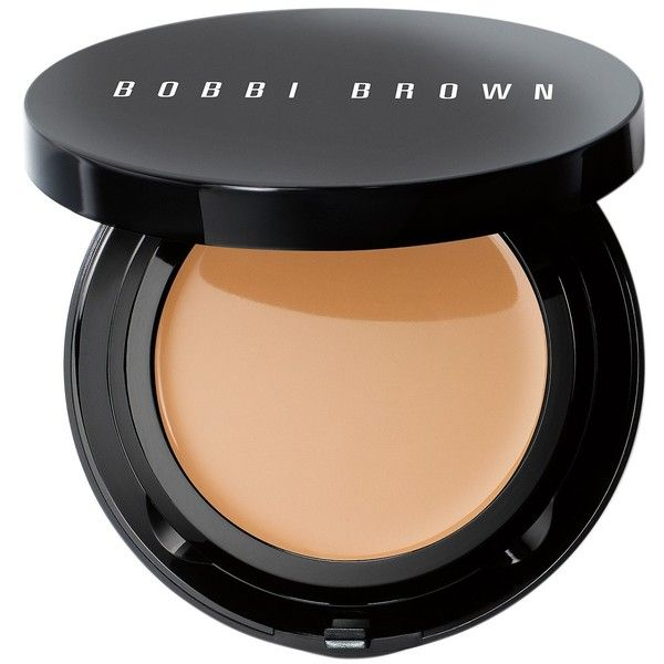 Bobbi Brown Skin Moisture Compact Foundation ($35) ❤ liked on Polyvore featuring beauty products, makeup, face makeup, foundation, dry skin foundation, moisturizing foundation, glossier foundation, bobbi brown cosmetics and hydrating foundation