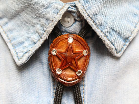 Hey, I found this really awesome Etsy listing at https://www.etsy.com/listing/272575708/sheriff-bolo-tie-avocado-seed-carved