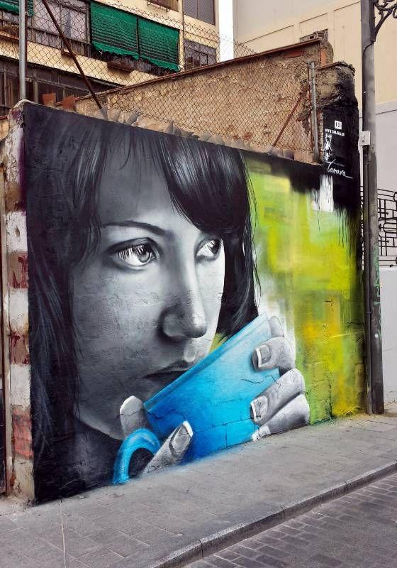 xolaka - street art - valence - break