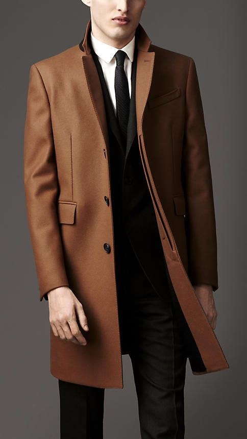 Camel Overcoat by Burberry. Buy for $3,295 from Burberry