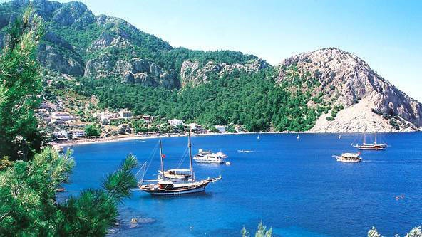 Marmaris, Turkey...from this angle it looks like it did decades ago