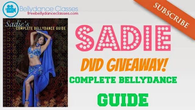 Giveaway winner announced: Sadie's ultimate bellydance guide DVD ~ Free belly dance classes online