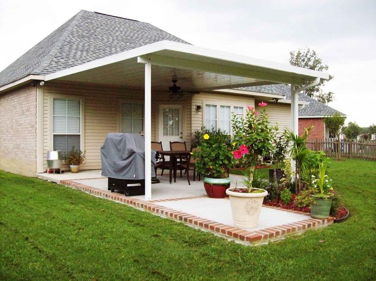 Patio Cover Kits Aluminum Patio Covers Furniture Design And Home Decoration  2017