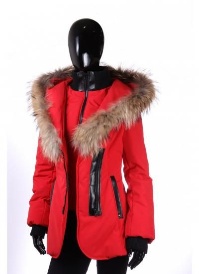 Sicily Chris Jacket Red | miX miX colleXions