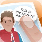 Bookabi är en app som låter dig skapa illustrerade berättelser med hjälp av tillhörande bakgrunder, bilder och karaktärer. Man kan också använda egna bilder som bakgrunder eller bilder, samt skapa egna figurer.