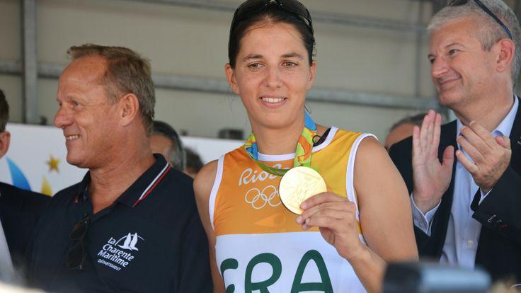 """Charline Picon : """"GRAVÉ DANS MA MÉMOIRE"""" #goaleo #yoursportyourgoal #picon #jo2016 #JeuxOlympiques #Rio2016 #France #Sport #Coach #Coaching #plancheàvoile #RSX #voile"""
