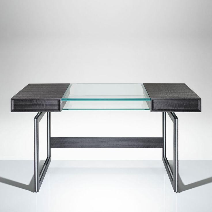 LINLEY | Bespoke design & furniture | Helix Console Table Fumed Eucalyptus | Luxury Gifts & Homeware, Furniture, Interior Design, Bespoke
