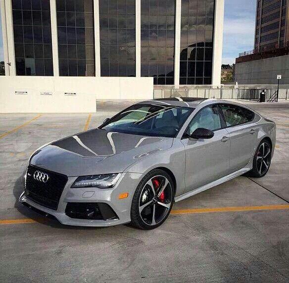 Glossy Gray Audi R7