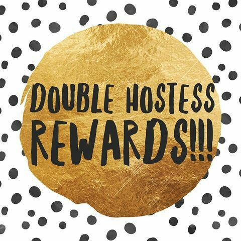 I'm offering DOUBLE hostess rewards of you book an in home party in January. That means 2 FREE items for every 10 sold and one free pair of leggings just for booking and keeping the date!