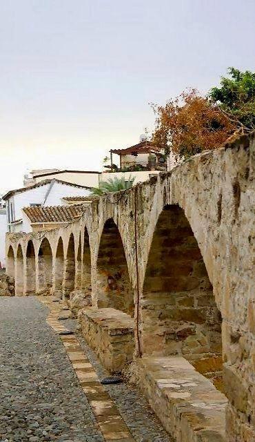 Old Roman Aqueduct in Nicosia, Cyprus