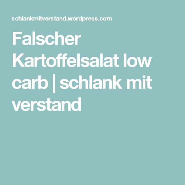Falscher Kartoffelsalat low carb | schlank mit verstand
