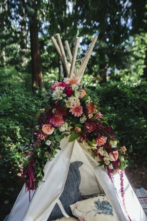Dreamy Woodland Boho Chic Wedding Ideas