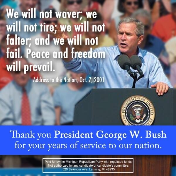 The man had his faults and made mistakes, but he loved this country and wanted to protect it.