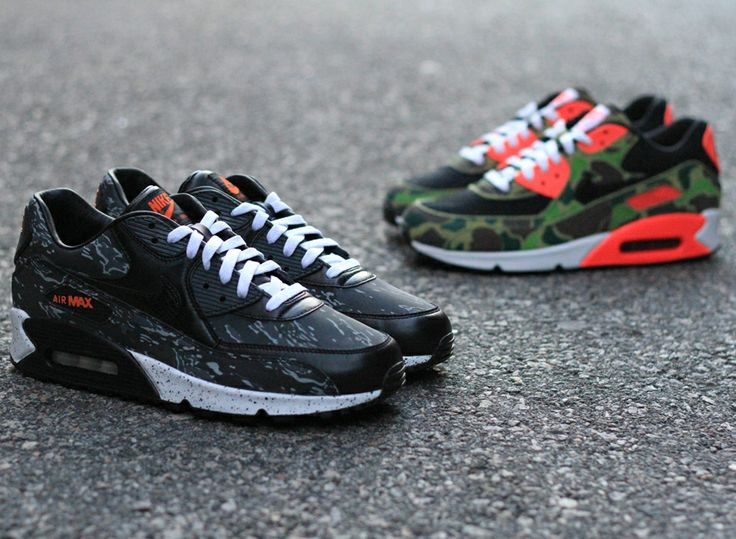 Nike Air Max 90 Prm atmos Exclusive Camo Pack Hitting The Us - Sneaker  Freaker