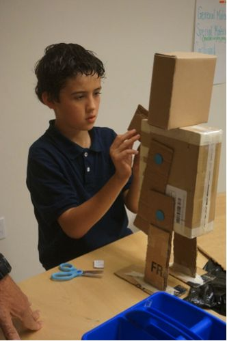 The Cardboard Robot and Web Design excitement continues into February.