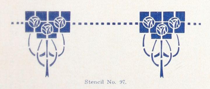 Laurelhurst Craftsman Bungalow: Matching Historic Stencils to Period Pictures