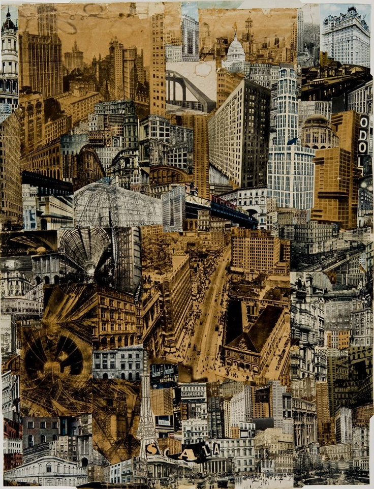 Metropolis (modern reproduction) | 1923 | Paul Citroen