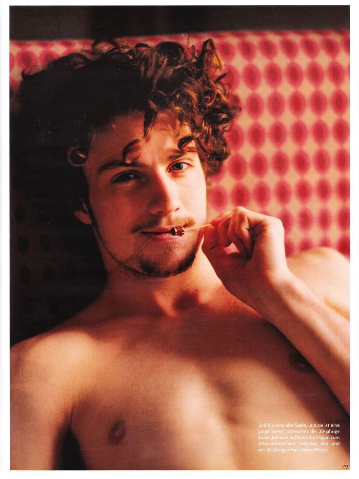 aaron johnson shirtless | Oh No They Didn't! - Aaron Johnson in Vogue Germany