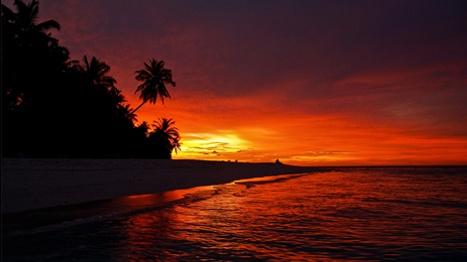 Fihalhohi sunset