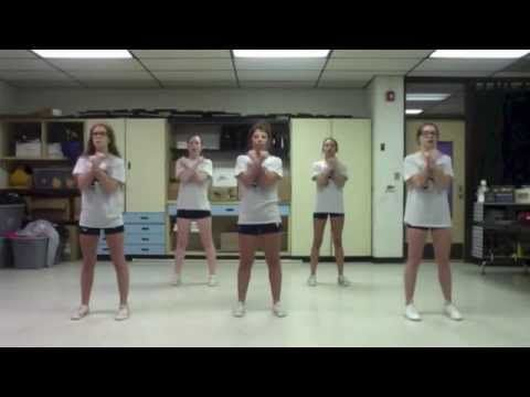 Kingfisher Cheerleading Football Chants 2015-2016 - YouTube