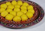 Kesari Pedha from G. Pulla Reddy Sweets is a popular sweet. This ball shaped sweet is extensively gifted when someone wants to share good news. It is also gifted during festivals like Rakshabandhan, Holi, Ugadi, and Diwali and religous ceremonies.