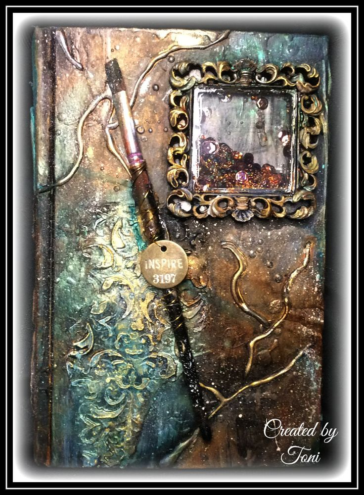 How to Create Mixed Media Art Journal Cover