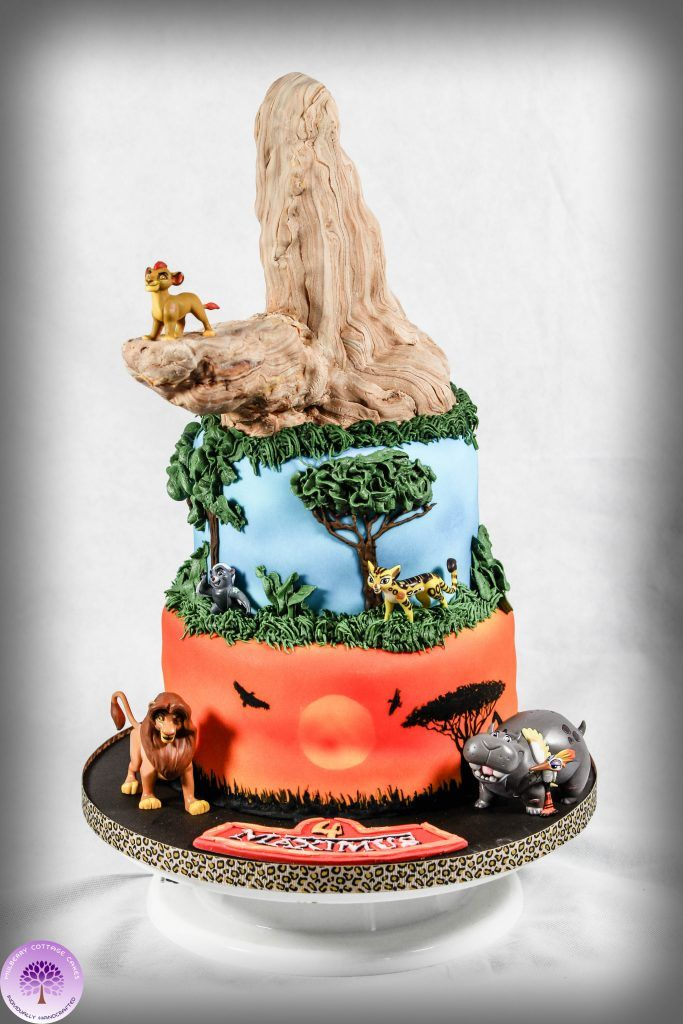 Lion Guard Birthday Cake by Mulberry Cottage Cakes