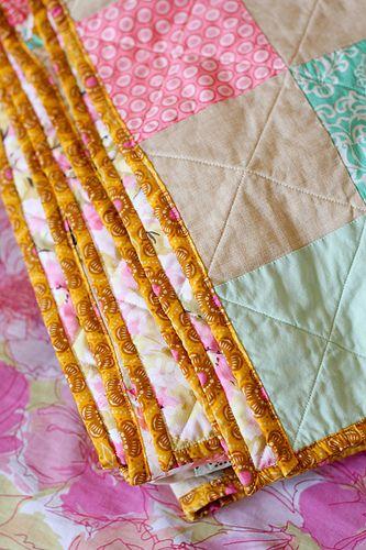 Patchwork Picnic Quilt: Tutorial