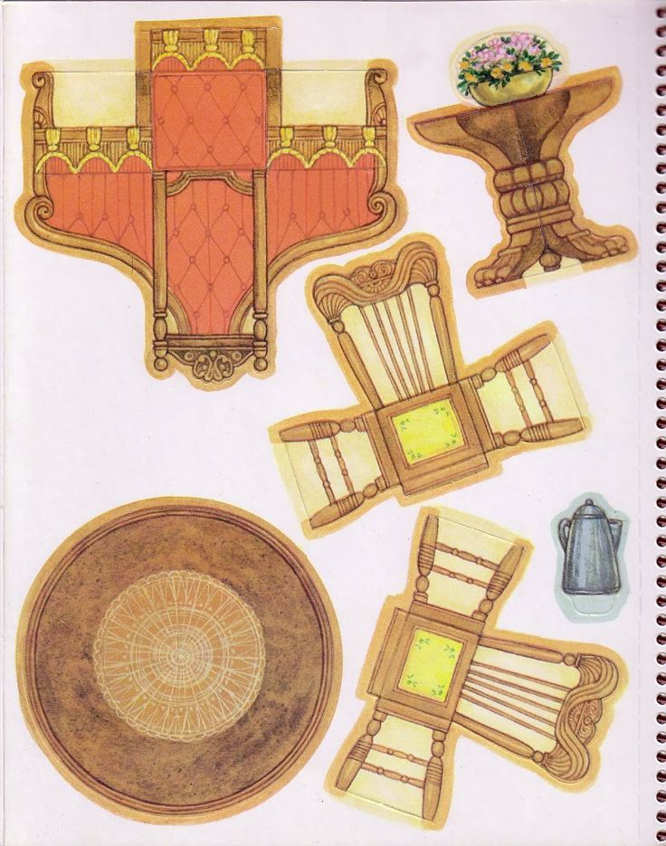 1000 images about storybook playhouse on pinterest make believe the movie and album - Paper furniture ...