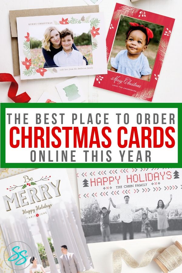 Looking for the best place to order Christmas cards online this year ...