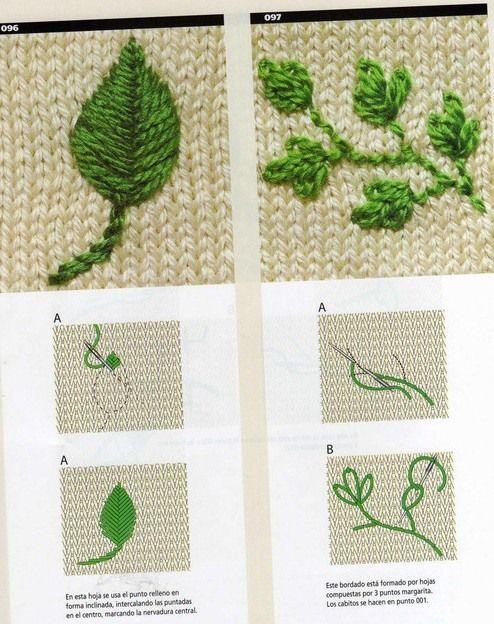 Украшаем вышивкой кофточки из трикотажа — Рукоделие