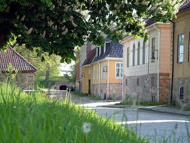 Summer in The Old Town Fredrikstad