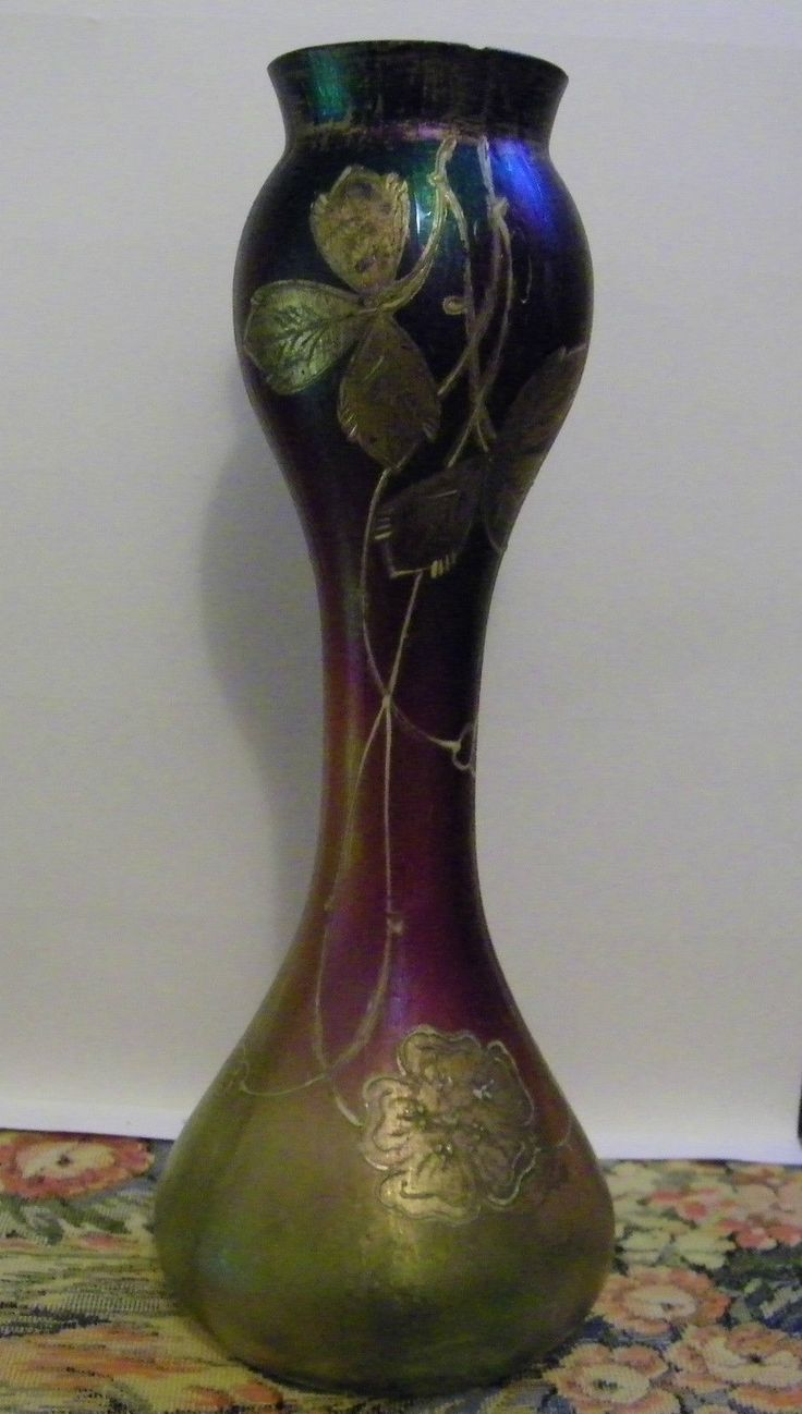 189 best loetz glass images on pinterest art nouveau glass vase rindskopf pepita loetz bohemian czech art glass 9 vase reviewsmspy