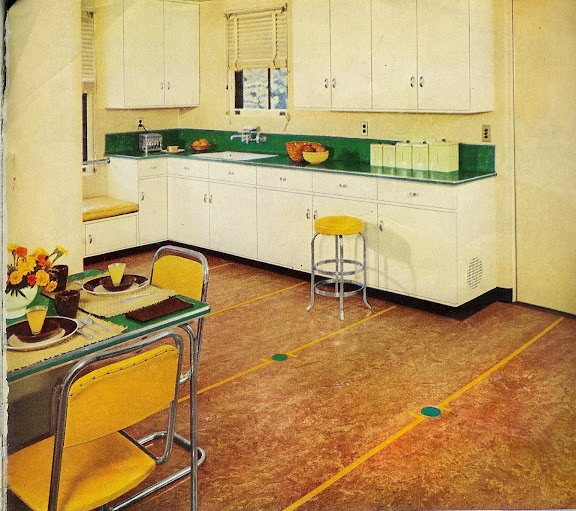 Retro Linoleum Kitchen Flooring: 86 Best Images About 1930 Kitchen On Pinterest