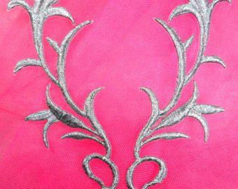 E252 Applications de dentelle de Venise miroir par gloryshouse