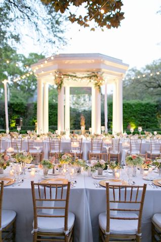 Stunning Southern New Orleans Wedding Elms Mansion Outdoor Courtyard Photographers